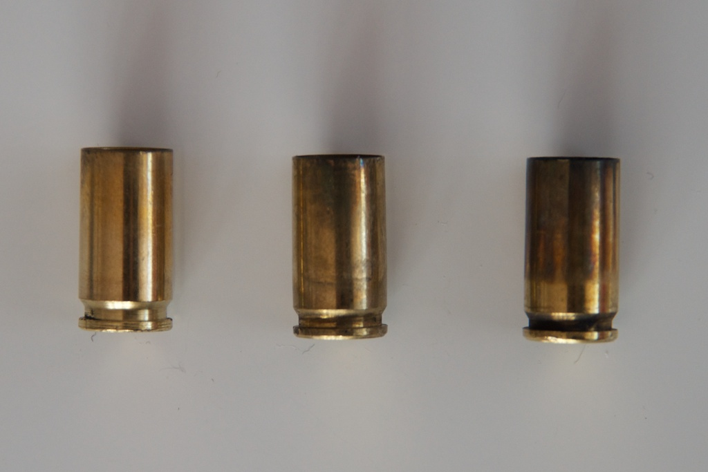 Expended Ammunition Cartridges